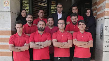 تیم خدمات پس از فروش