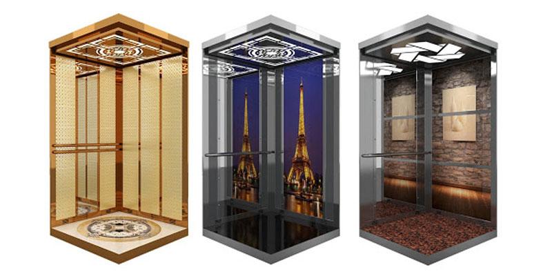 کابین آسانسور مدرن، لوکس و لاکچری 4 نفره + لیست قیمت